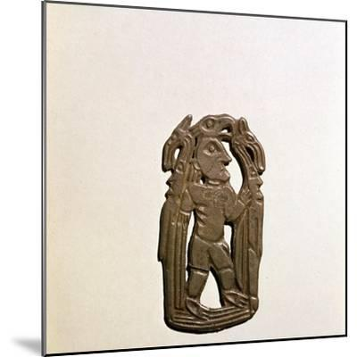 Bronze Plaque, Kama River Tribes, 3rd century BC-8th century-Unknown-Mounted Giclee Print