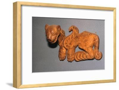 Scythian wooden bridle ornament-Unknown-Framed Giclee Print