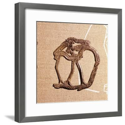 Bronze from Kama River Tribes, USSR, 3rd century BC-8th century-Unknown-Framed Giclee Print