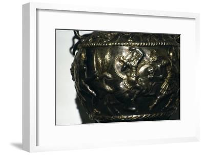 Silver Bowl from a Sarmatian Tomb, 4th-5th century-Unknown-Framed Giclee Print