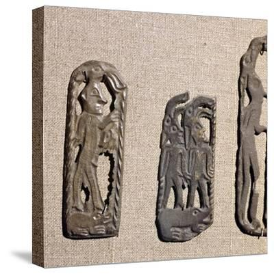 Bronze from Kama River Tribes, USSR, 3rd century BC-8th century-Unknown-Stretched Canvas Print