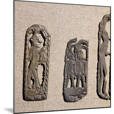 Bronze from Kama River Tribes, USSR, 3rd century BC-8th century-Unknown-Mounted Giclee Print
