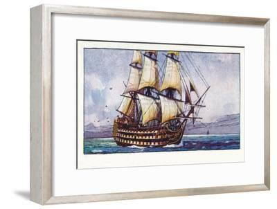'A Naval Cutter, 1937-Unknown-Framed Giclee Print