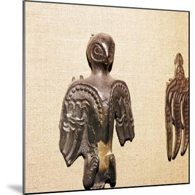 Bronze used in Shaman's practices, Kama River Tribes, 3rd century BC-8th century-Unknown-Mounted Giclee Print
