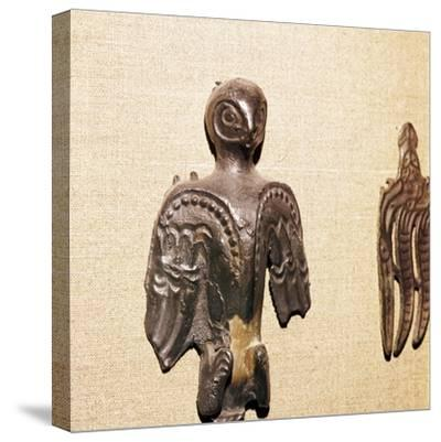 Bronze used in Shaman's practices, Kama River Tribes, 3rd century BC-8th century-Unknown-Stretched Canvas Print
