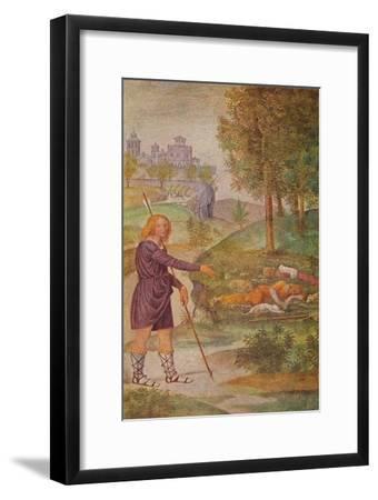'The Illusion of Cephalus', 1520-1522-Bernardino Luini-Framed Giclee Print