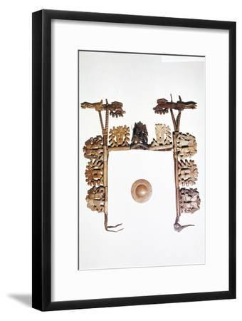 Riding outfit from Pazyryk, Altai Mountains, USSR, 5th century BC-4th century BC-Unknown-Framed Giclee Print