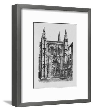'Avignon - St. Peter's Church', c1925-Unknown-Framed Photographic Print