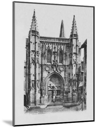 'Avignon - St. Peter's Church', c1925-Unknown-Mounted Photographic Print