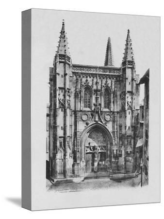 'Avignon - St. Peter's Church', c1925-Unknown-Stretched Canvas Print