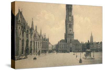 'Market Place', c1910-Unknown-Stretched Canvas Print
