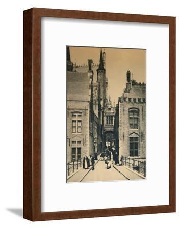 'Blind Donkey Street', c1910-Unknown-Framed Photographic Print