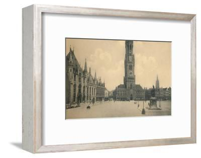 'Market Place', c1910-Unknown-Framed Photographic Print