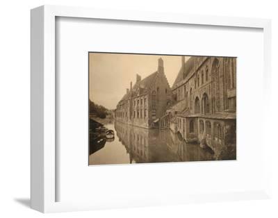 'Hôpital Saint-Jean', c1928-Unknown-Framed Photographic Print