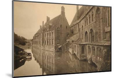 'Hôpital Saint-Jean', c1928-Unknown-Mounted Photographic Print
