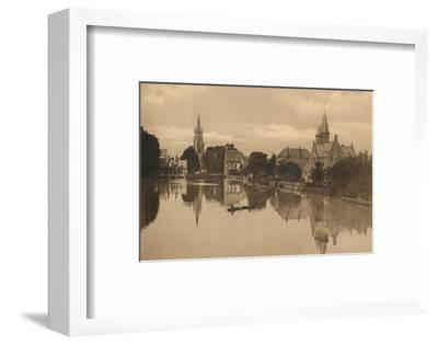 'Le Lac d'Amour', c1928-Unknown-Framed Photographic Print