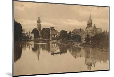'Le Lac d'Amour', c1928-Unknown-Mounted Photographic Print