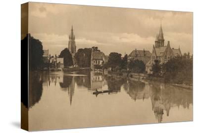 'Le Lac d'Amour', c1928-Unknown-Stretched Canvas Print
