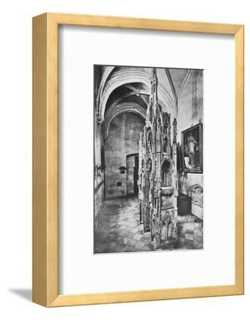 'Interior Tomb of the Pope Jean XXII', c1925-Unknown-Framed Photographic Print