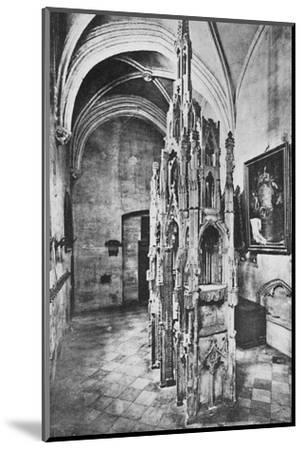 'Interior Tomb of the Pope Jean XXII', c1925-Unknown-Mounted Photographic Print