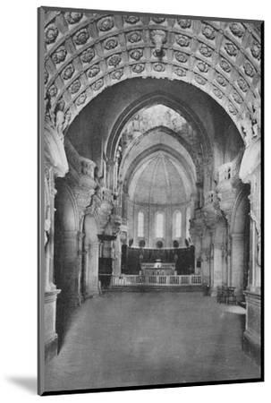 'Cathedrale D'Avignon. - Cathedral Inside', c1925-Unknown-Mounted Photographic Print