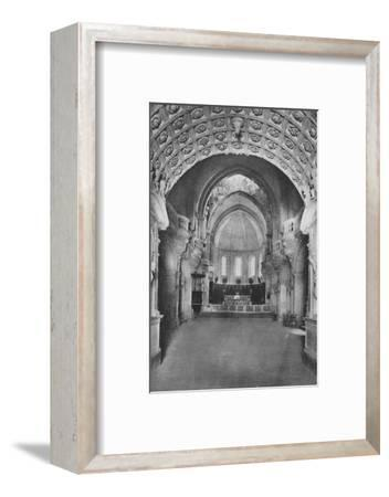 'Cathedrale D'Avignon. - Cathedral Inside', c1925-Unknown-Framed Photographic Print