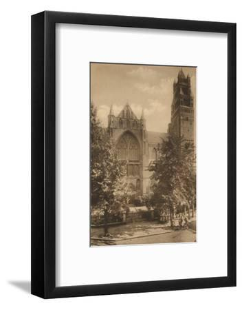 'Cathedrale Saint-Sauveur', c1928-Unknown-Framed Photographic Print