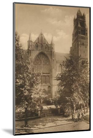 'Cathedrale Saint-Sauveur', c1928-Unknown-Mounted Photographic Print