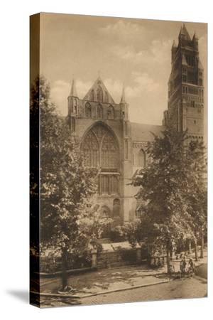 'Cathedrale Saint-Sauveur', c1928-Unknown-Stretched Canvas Print