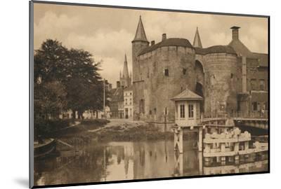 'Porte de Gand', c1928-Unknown-Mounted Photographic Print