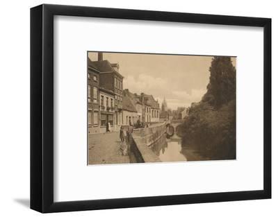 'Le Quai des Ménétriers', c1928-Unknown-Framed Photographic Print