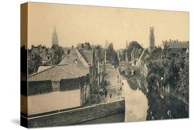 'General view of the Green Quay', c1910-Unknown-Stretched Canvas Print