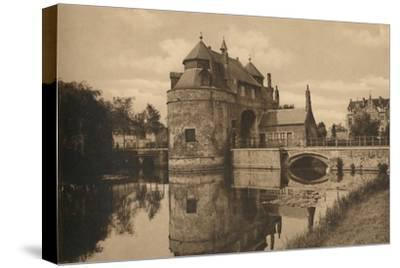 'Porte d'Ostende', c1928-Unknown-Stretched Canvas Print