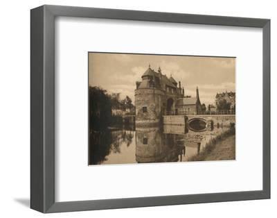 'Porte d'Ostende', c1928-Unknown-Framed Photographic Print