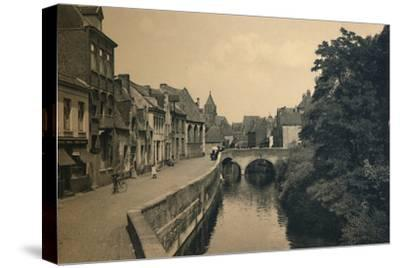 'Quay of the Ménétriers', c1910-Unknown-Stretched Canvas Print