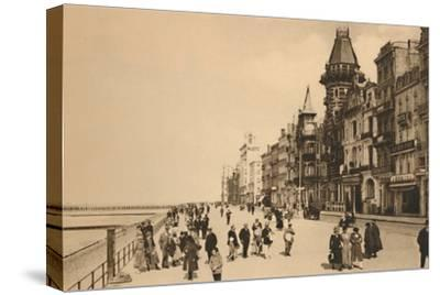 'The Esplanade', c1928-Unknown-Stretched Canvas Print