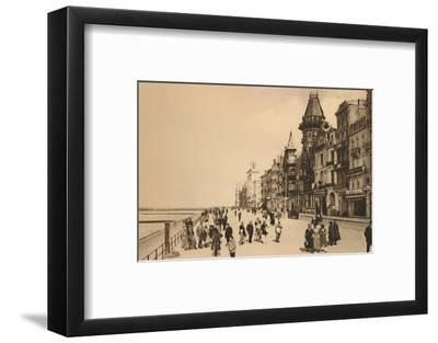 'The Esplanade', c1928-Unknown-Framed Photographic Print