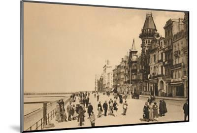 'The Esplanade', c1928-Unknown-Mounted Photographic Print