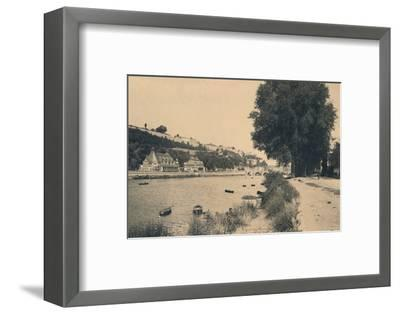 'Kursaal et Pont de Jambes', c1900-Unknown-Framed Photographic Print