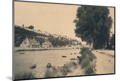 'Kursaal et Pont de Jambes', c1900-Unknown-Mounted Photographic Print