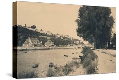 'Kursaal et Pont de Jambes', c1900-Unknown-Stretched Canvas Print