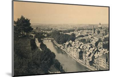 'Panorama de la Sambre', c1900-Unknown-Mounted Photographic Print