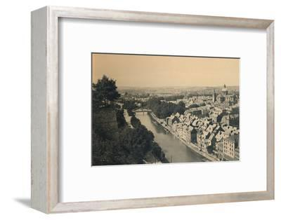 'Panorama de la Sambre', c1900-Unknown-Framed Photographic Print