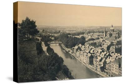 'Panorama de la Sambre', c1900-Unknown-Stretched Canvas Print