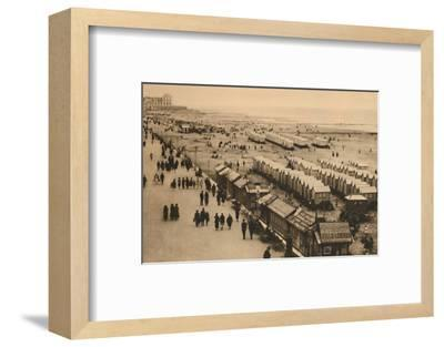 'View of the Esplanade towards the Palace Hotel and Cabins', c1928-Unknown-Framed Photographic Print