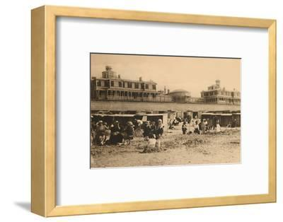 'The Royal Residence and the Esplanade', c1928-Unknown-Framed Photographic Print