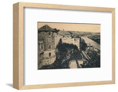 'La Tour de la Citadelle et Panorama de la Meuse', c1900-Unknown-Framed Photographic Print