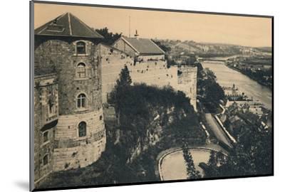 'La Tour de la Citadelle et Panorama de la Meuse', c1900-Unknown-Mounted Photographic Print