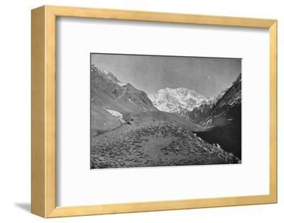 'Aconcagua, Near The Road From Santiago to Mendoza', 1911-Unknown-Framed Photographic Print
