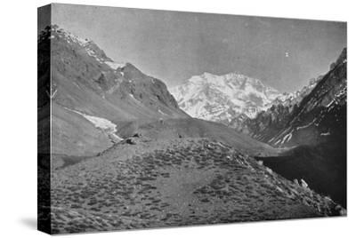 'Aconcagua, Near The Road From Santiago to Mendoza', 1911-Unknown-Stretched Canvas Print
